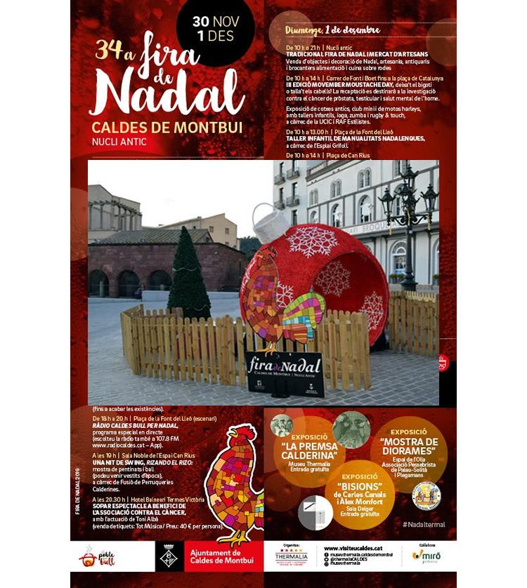 Fira de Nadal Caldes de Montbui 2019