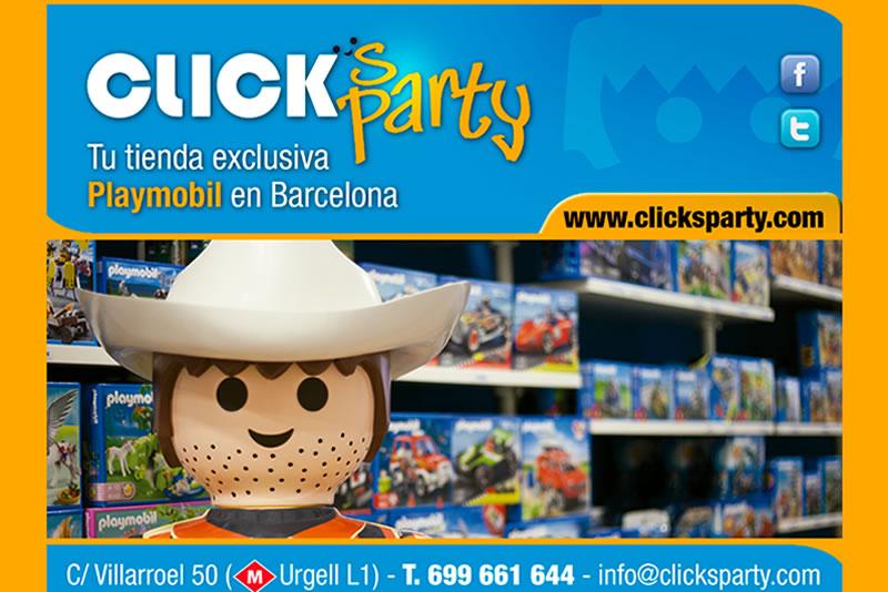 Clicks Party – la botiga dels Playmobils de Barcelona