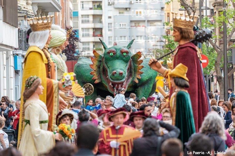 La casa dels Gegants de Lleida
