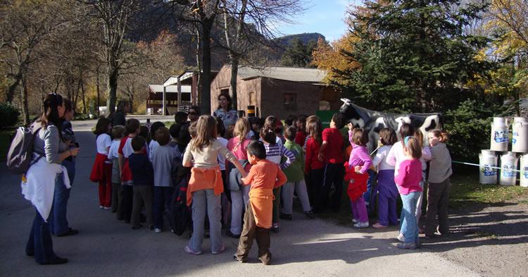 escoles a granja La Fageda