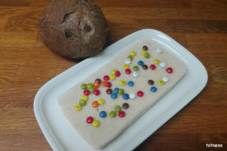 recepta torró de cocoa
