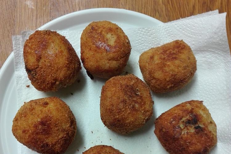 recepta bombes de patata per fer amb nens