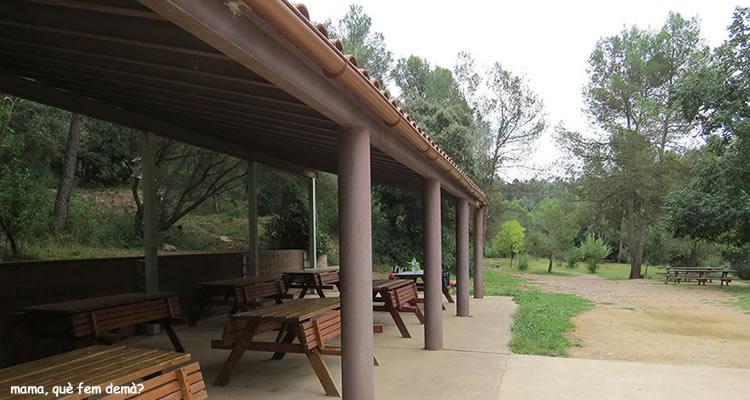 Cami de les Arenes a Castellar del Valles picnic
