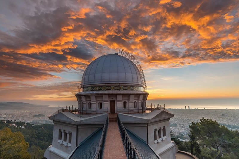 Observatori Fabra cúpula