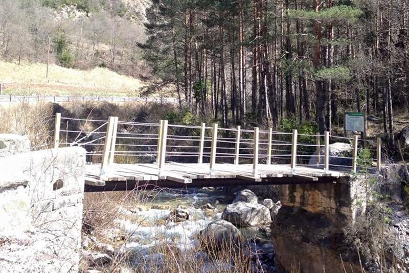 Ruta de la Fauna de Montiberri pont