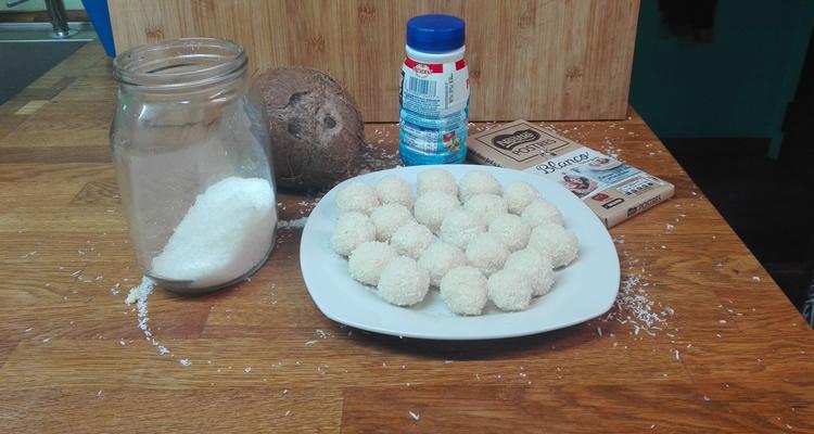 recepta trufes xocolata blanca