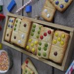 receptes galetes domino per fer amb nens lacasitos