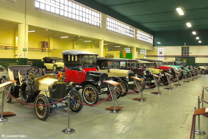 Museu de l'Automoció Roda Roda de Lleida exposició