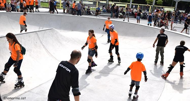 Pista skater a La Marina inauguracio