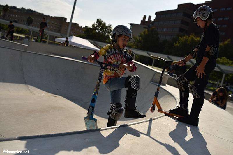 Pista skater a La Marina nens