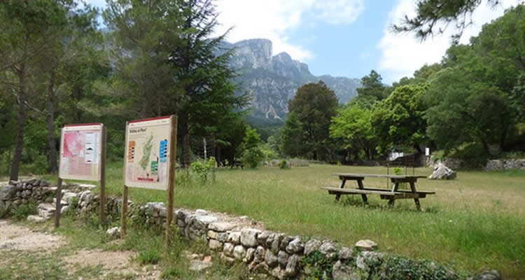 area de lleure la vall als Pports