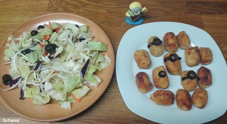 recepta croquetes de pollastre