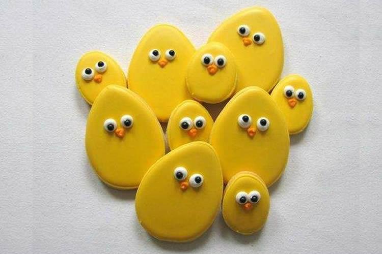 galetes de Pasqua decorades