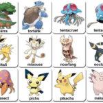 Memory de Pokemons gratuït per imprimir 01