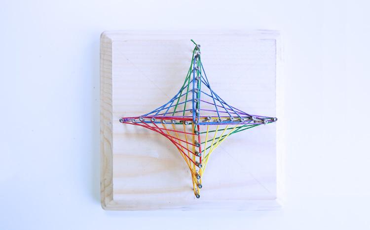 art i geometria amb nens