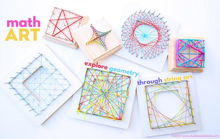 figures geometriques amb llana