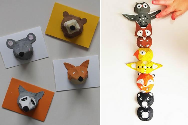 creatius animals amb oueres