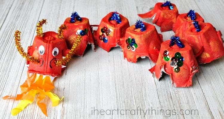 creatius animals amb oueres drac