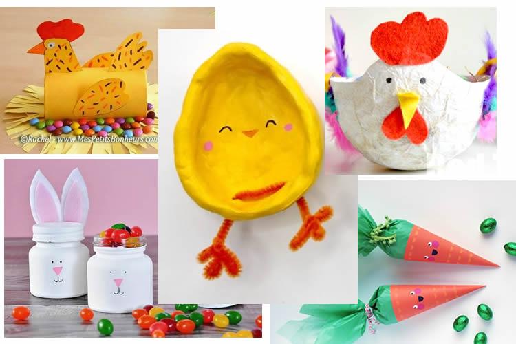 manualitats per guardar ous de Pasqua