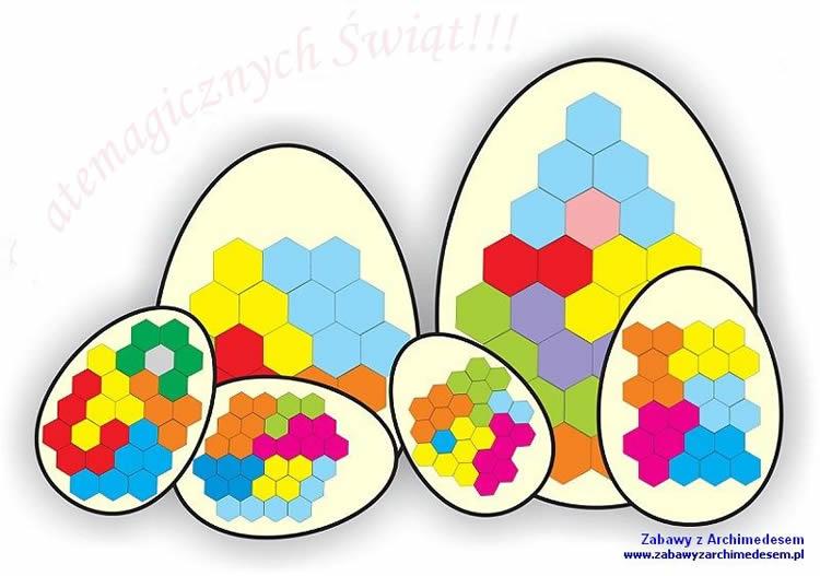 trencaclosques figuratius d'ous de Pasqua