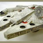 Imprimible del Falcó Mil·lenari 3D maqueta