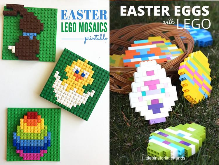 idees per pasqua amb nens lego