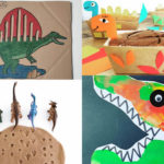 18 manualitats de dinosaures trobats a Instagram
