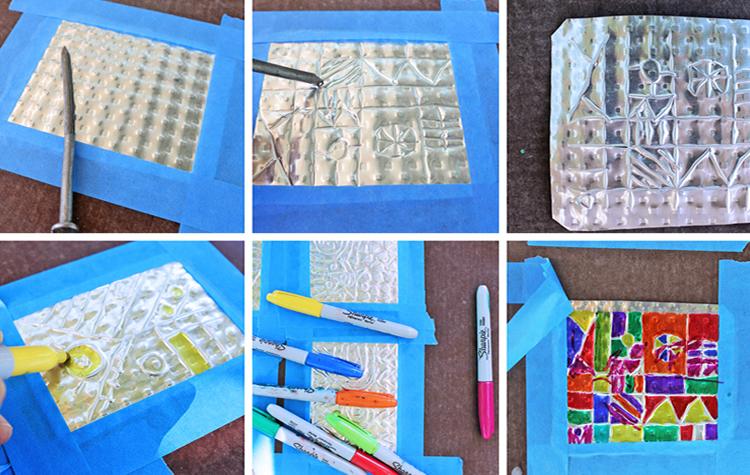 Creativitat artística amb alumini pas a pas