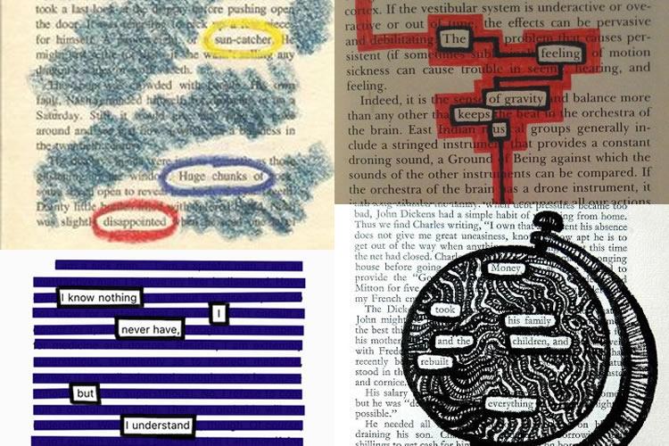 creativitat ratllant paper de diari