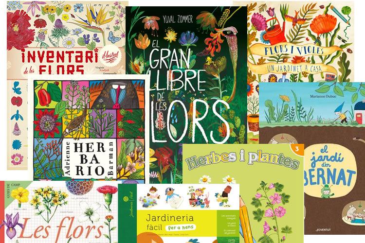 llibres de flors i jardins per a nens