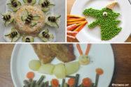 Plats de verdures per a nens