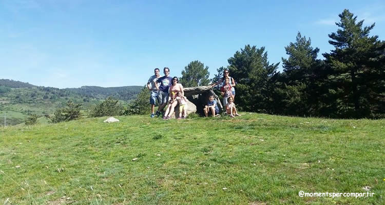 Dolmen de La Paborda a La Molina