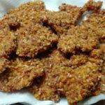 pollastre amb arrebossat cruixent de quicos