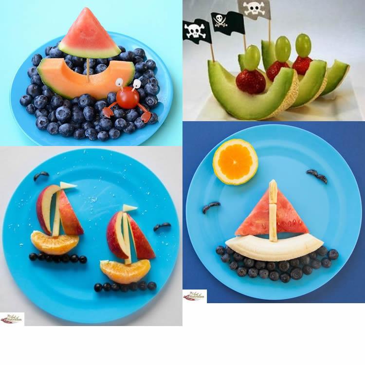 vaixells per al sopar d'estiu fruites