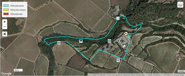 Castell de Penyafort ruta