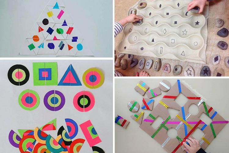 Montessori per treballar les geometries