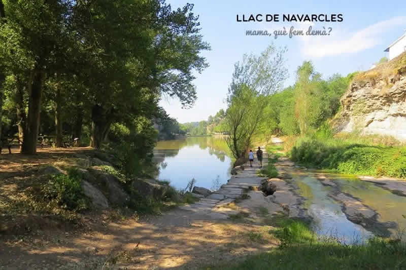 Parc del Llac de Navarcles vorejant el llac