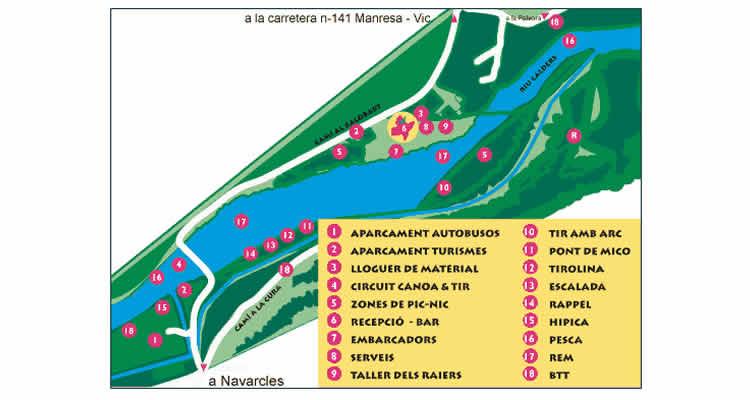 Parc del Llac de Navarcles activitats