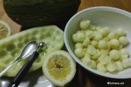 Refrescants boletes de meló amb llimona