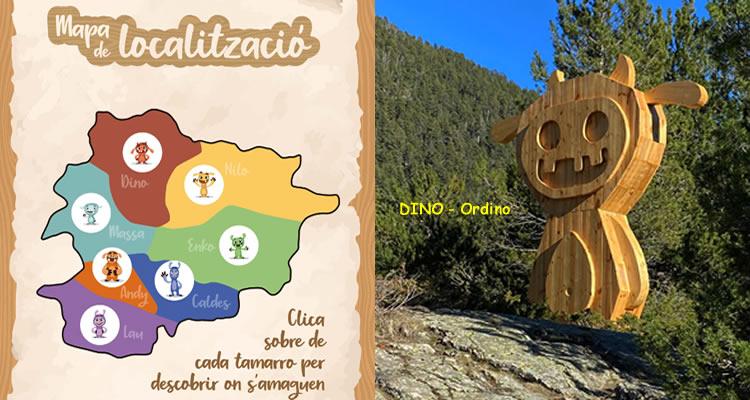 Troba els Tamarro d'Andorra Dino