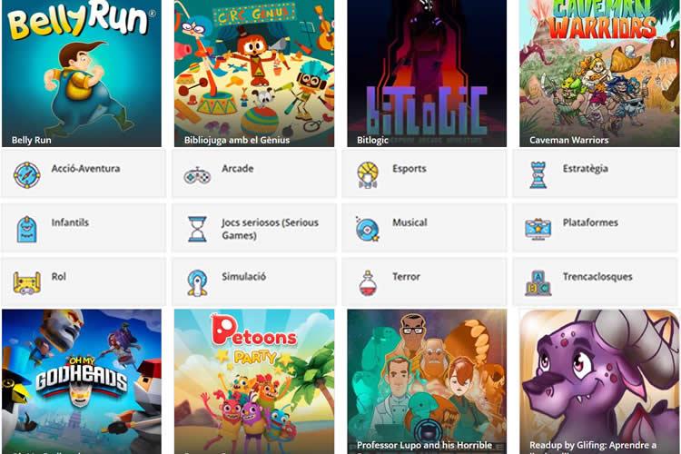 VDJOC Catàleg de videojocs en català