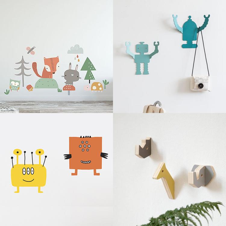 8 detalls decoratius per a l'habitació infantil