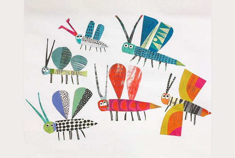Clare Youngs i els collage d'animals