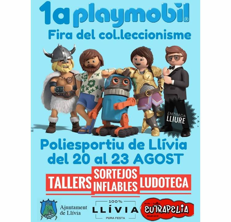 Fira Playmobil a Llívia 2020