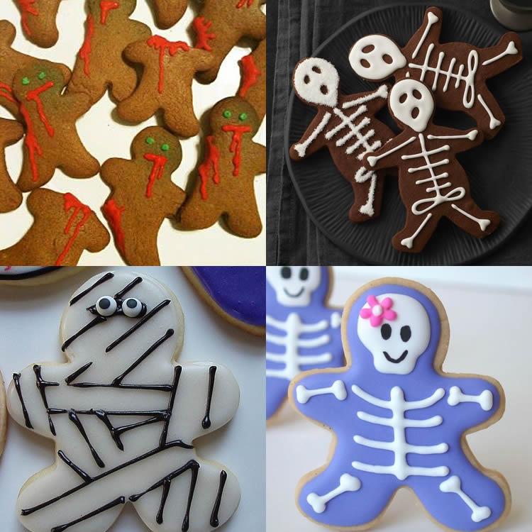 Galetes de gingebre de Halloween per fer mab nens