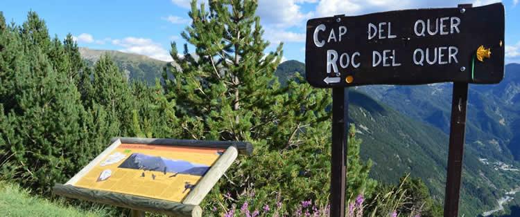 Mirador del Roc de Quer ruta
