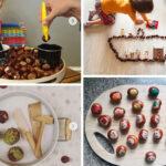 12 activitats per fer amb castanyes