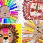 12 melenes de lleons amb materials diferents