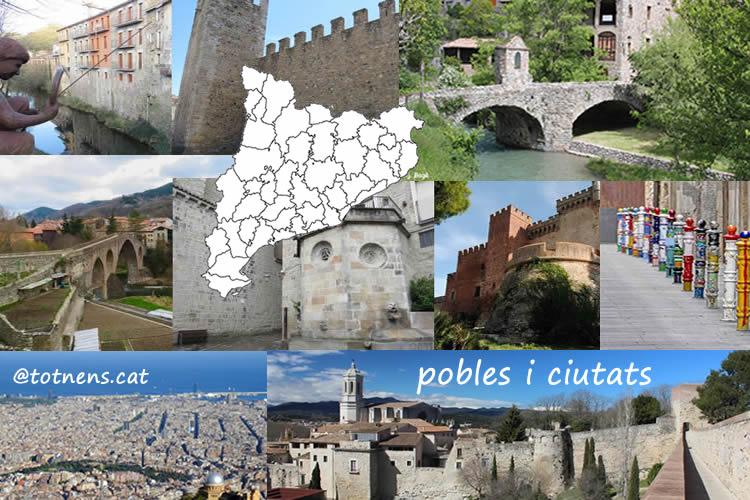 Pobles i ciutats de Catalunya amb nens
