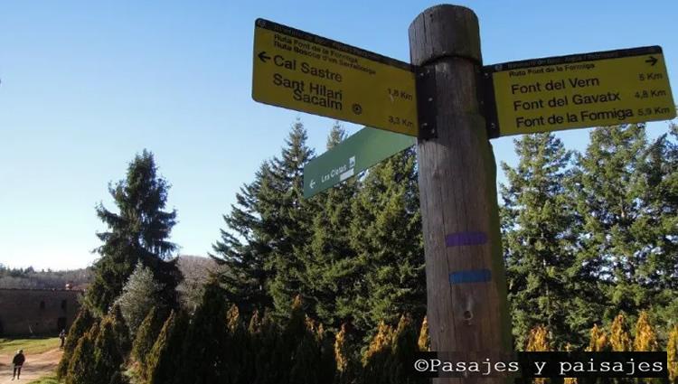 Ruta pels boscos d'en Serrallonga - itinerannia